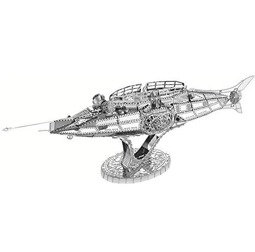 3D Metal model kit Nautilus Submarine Assembly Model DIY 3D Laser Cut Model puzzle toys for adult