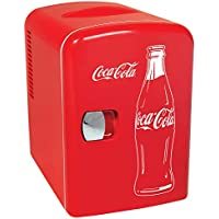 Classic Coca Cola 6 Can Personal Mini Cooler and Fridge