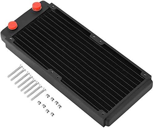 Osprey - Enfriador de agua para radiador de computadora de cobre para disipador de calor de CPU - Intercambiador de calor líquido...