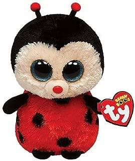 """Bugsy the Ladybug 6"""" TY Beanie Boo (Each)"""