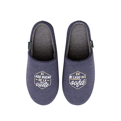 Zapatillas de casa talla 40-43 - El lado bueno de la vida
