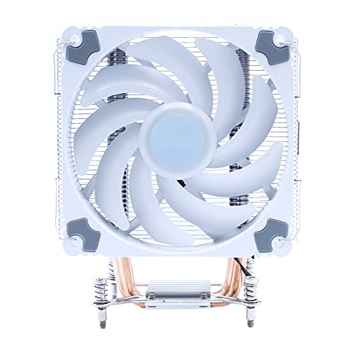 UOEIDOSB 120mm UPC Ventilador más frío PWM 4PIN ARGB RGB AM2 AM3 AM4 Tranquilo UPC Soporte del refrigerador del radiador (Blade Quantity: : AM2 AM3 AM4, Color : ARGB)