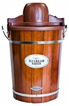 Nostalgia Icmp600Wd 6 Qt Ice Cream Maker by Nostalgia Products Group