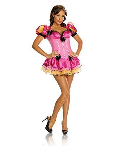 Horror-Shop Sexy Märchenkleid mit Schleifen XS