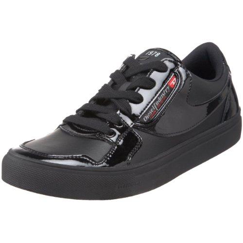 Diesel 00YF36PS075T801346, Herren Sneakers, Schwarz (Black), 46 EU