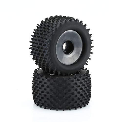 KangKangPL Neumáticos Neumático de la Rueda 1/8 Truggy RC Coches neumáticos HPI-Racing GT2 y Conjunto de Tarjeta Racing Borde del Coche Modelo for Monster Truck de Coches para Coche de Juguete Model