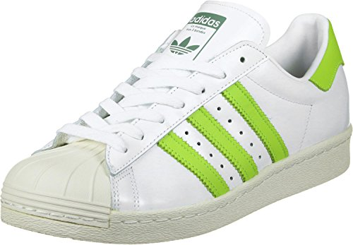 adidas Superstar 80s Schuhe 4,0 white/yellow