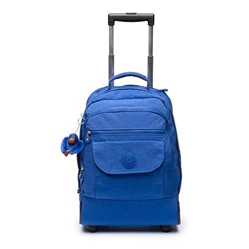 Kipling Sanaa Large Rolling Backpack One Size Blue Tropics Tonal