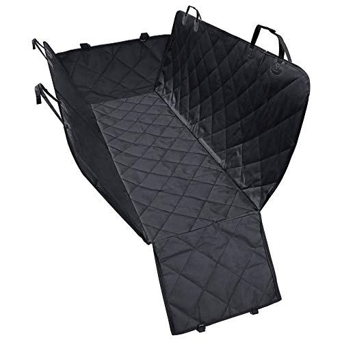 Car Rear Seat Cover Protector for Dogs and Pets Hammock Style Heavy Duty Durable Construction Water/Scratch Proof