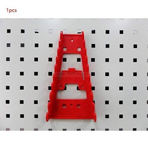 Caja de herramientas de widgets Montado en la pared de acero Herramienta de piezas Caja de almacenamiento Garaje Estantería hardware herramienta organizar caja Colgando Junta componentes de la caja de