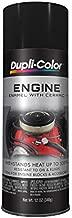 DE1613 Engine Enamel with Ceramic, Gloss Black,12 oz. Size