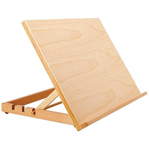 EBRO 06197 A3 Estación de trabajo, madera, marrón, 33 x 44 x 31.5 cm