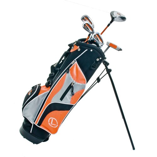 Longridge Ensemble 5 Clubs Junior Challenger Golf Orange/Noir