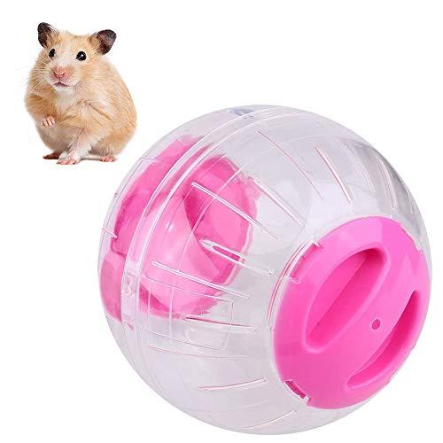 MKSI Bola para Hámster Hamster Run Ball,Bola de Plástico de Hámster,Pelota de Fitness Transparente Hamster,para Hamster, Rata, Jerbo