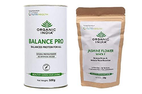 Organic India Balance Pro 500g & Jasmine Flower Whole 25g