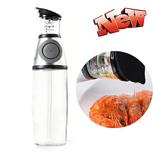 HLDWXN Dispensador de Aceite Inoxidable Oliva Botella Rociador Vaso para Cocinar A Prueba Fugas Acero Convoys Y Vinagre Vinagrera Aceitera,para Cocina...