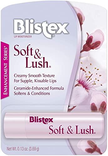 Blistex Soft & Lush Lip Balm, 0.13 oz (Pack of 3)