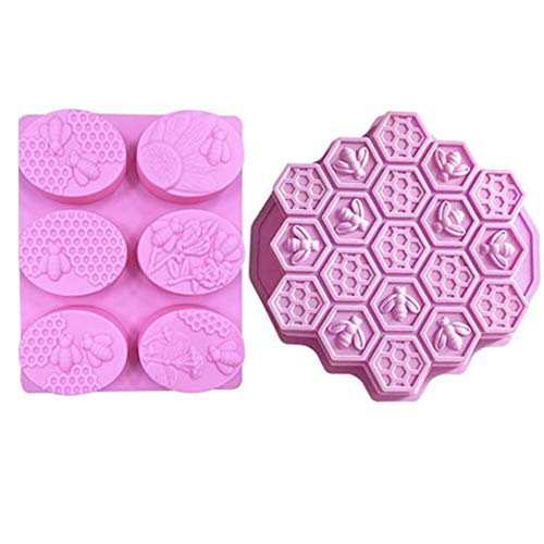 Large Honeycomb Silicone Mold Baking Cake Baking Moulds Bakeware for Family or Friends Party