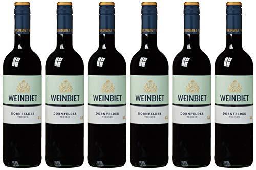 Weinbiet Manufaktur Dornfelder Trocken Rotwein (6 X 0.75 L)