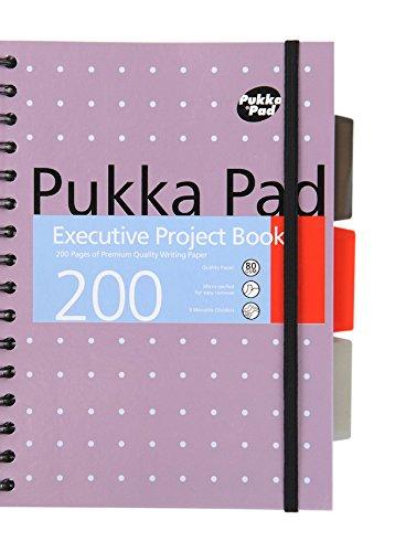 Pukka pad A5 proyecto ejecutivo x 1 solo libro 200 páginas de Bloc de notas