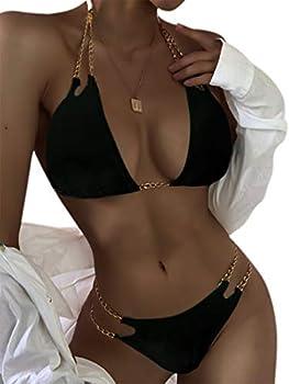 chain strap bikini