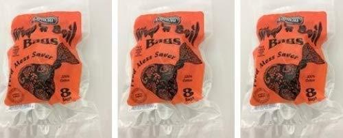 Wrap'N Boil Bags - 8 Ct (3 Pack) total 24 soup Bags