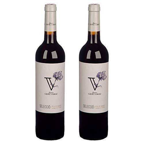 Vino tinto DO Pla de Bages, año 2016 - PACK 2 BOTELLAS - Tempranillo, Merlot, Cabernet Franc y Syrah - Selecció