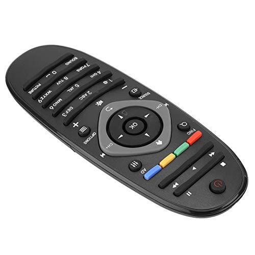 Wosune Control Remoto de TV Universal; Botón Grande multifunción ABS Smart TV Control Remoto; para Philips