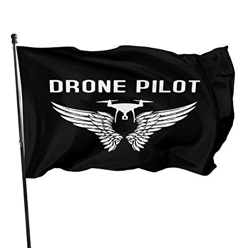 chenguang4422 Drone Pilot Outdoor Flag 4x6 feet Decoratieve vlag voor backyard, home, feest
