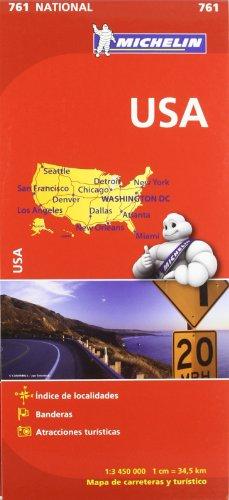 Mapa National U.S.A. (Mapas National Michelin)