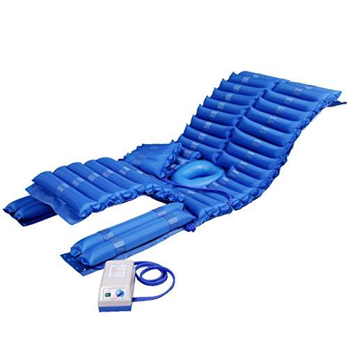 Luftmatratze mit pumpe - Anti-Dekubitus-Matratze, die in Umdrehen aufblasbaren Bett-Luft-Deckel for Dekubitus Und Dekubitusbehandlung helfen können - passend for Standard-Krankenhaus-Bett, 190 * 90cm