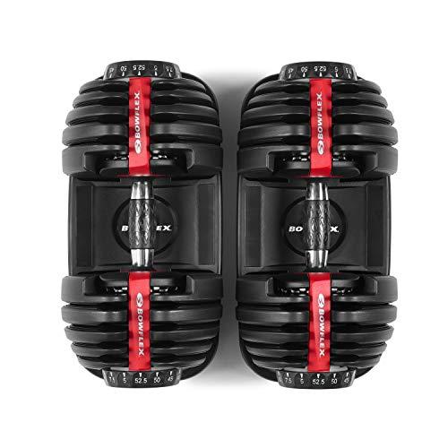 Bowflex SelectTech 552 Version 2 | Two Adjustable Medium Dumbbells