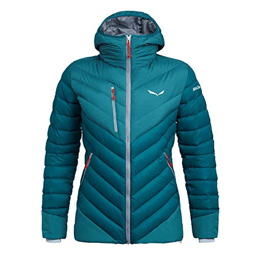 Salewa Ortles Medium 2 Dwn W JKT Veste Femme, Bleu (Blue-Malta/0340), 40/34