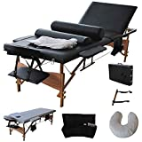 Best Massage Tables - Giantex Portable Massage Table Facial Bed 3 Fold Review
