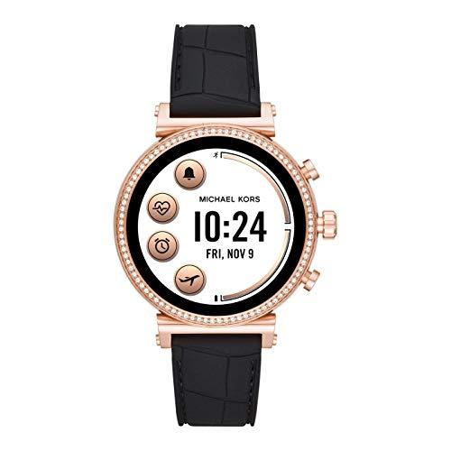 Michael Kors Reloj inteligente para mujer con correa de silicona MKT5069 (renovado)