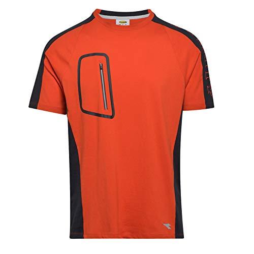 Utility Diadora - T-Shirt da Lavoro T-Shirt Cross Organic per Uomo (EU M)