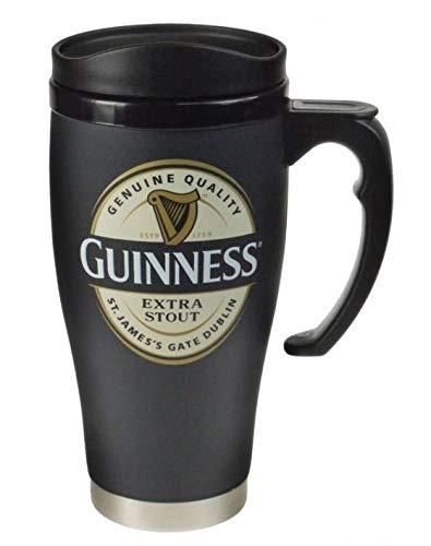 Kaffeebecher für unterwegs, mit Guinness-Logo