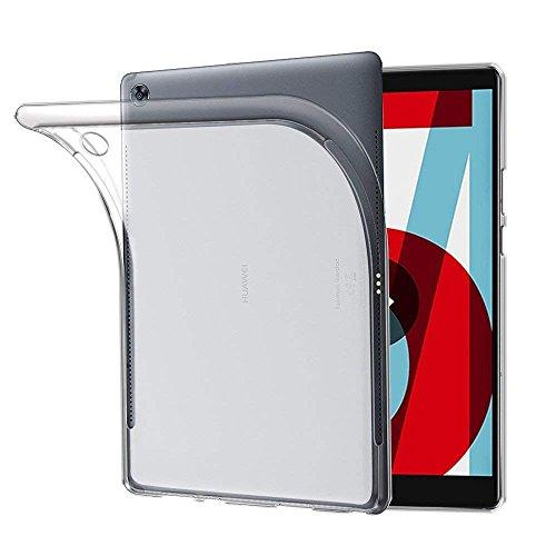 TopACE Cover Huawei MediaPad T5 10 Huawei MediaPad T5 10 Custodia Puro Trasparente Morbida TPU Silicone Ultra Sottile Case per MediaPad T5 10 (Trasparente)