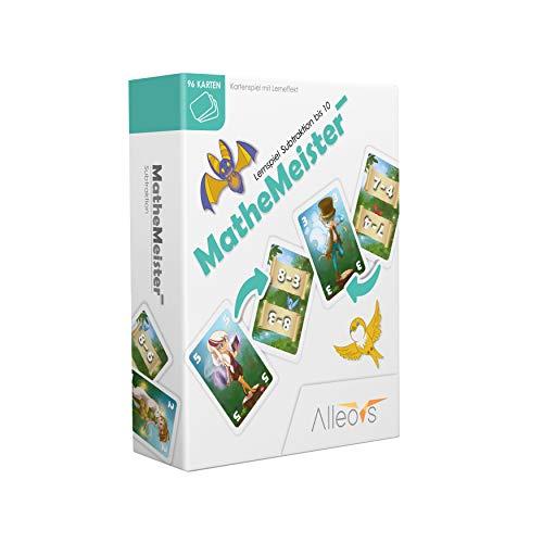 ALLEOVS Math Masters Minus - juego de aprendizaje de matemáticas para resta - escuela primaria menos aritmética mental aritmética aritmética juego de matemáticas para niños a partir de 6 años