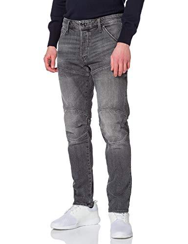 G-STAR RAW Mens 5620 3D Slim Jeans, Faded Anchor C530-C282, 33W / 34L