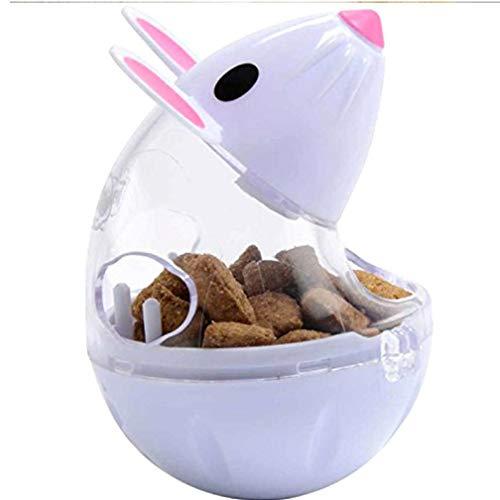 TOSSPER Los Ratones Mascota alimentador de Juguete de Forma balanceo del ratón del Gato Fuente alimentaria Reproducción de formación Juguetes educativos para los Gatos