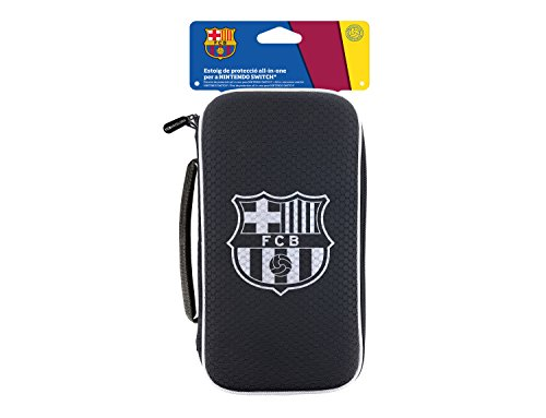 Subsonic FC Barcelona - Estuche All In One (Nintendo Switch)