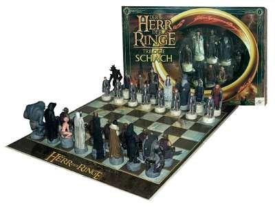 Schachspiel Der Herr der Ringe Trilogie Edition