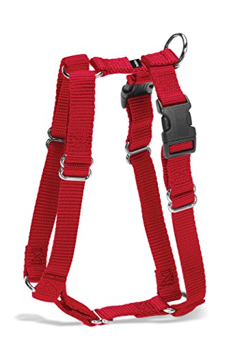 PetSafe Sure-Fit Harness, Adjustable Dog Harness from the Makers of the Easy Walk Harness, RED, EXTRA SMALL