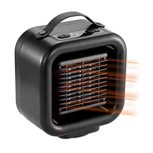 Dsnmm Ventilatore Stufa elettrica Riscaldamento Elettrico oscillante Automatico e 2 Calore...