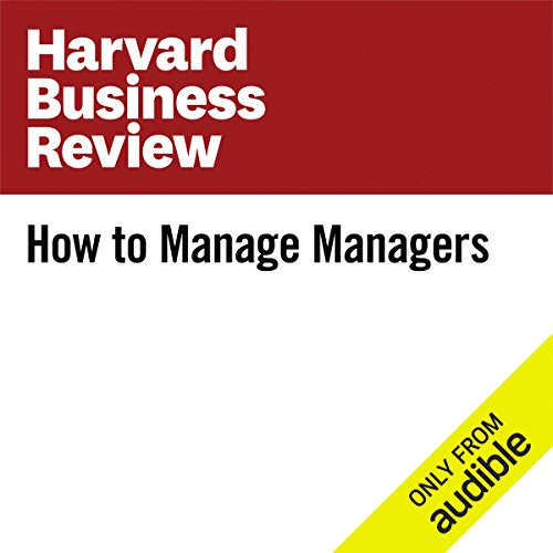 How to Manage Managers audiobook cover art