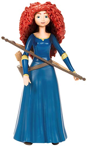 ​Disney and Pixar Brave Merida Action Figure, Movie Character Toy 6.6-in / 16.8-cm Tall, Highly Posable in Authentic Costume with Bow & Arrow, Gift for Ages 3 Years Old & Up