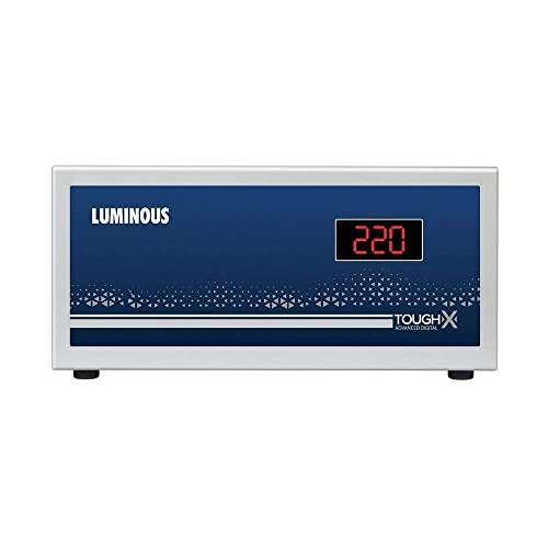 Luminous ToughX TR100D 100V Voltage Stabilizer for Refrigerator up to 450L (Grey)