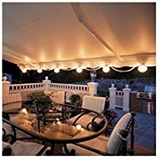 SunSetter Patio Awning Lights - Awning Attachment (White) (6 lights) by SunSetter