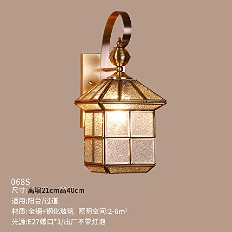 StiefelU LED Wandleuchte nach oben und unten Wandleuchten Retro outdoor Wandleuchte lampe Schlafzimmer Wohnzimmer Treppenhaus balkon Wandleuchte bronze Lampen, einem Kopf